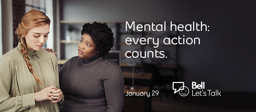 That's why we're lending a hand and joining the stigma-busting campaign on January 29. During the 10th annual Bell Let's Talk Day, Tile Town staff are encouraging customers to continue talking about mental health after the campaign and help create positive change in the lives of Canadians.
